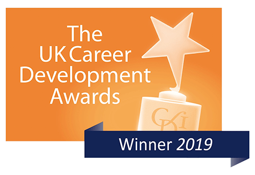 Logo of the uk career development award
