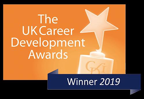 Logo of the uk career development award