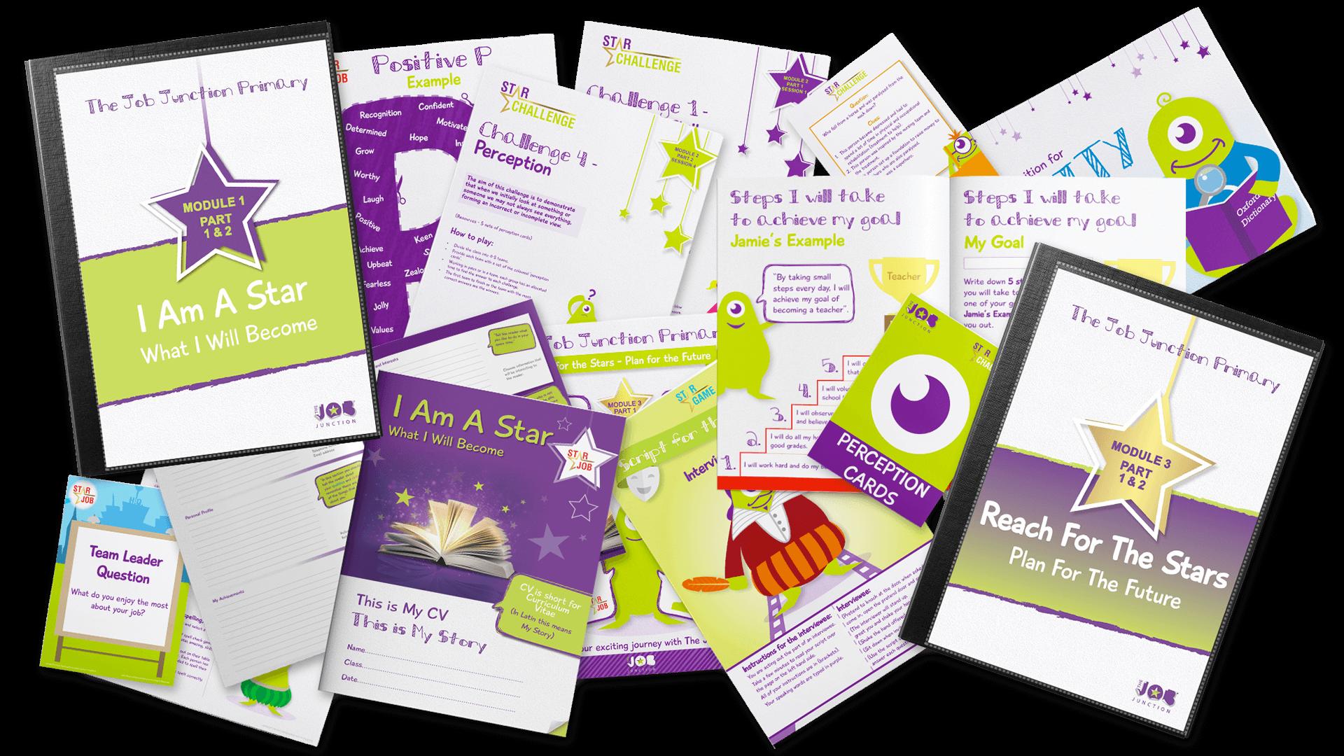 The Raising Aspirations programme materials